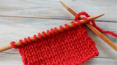 how to knit stitch k in knitting