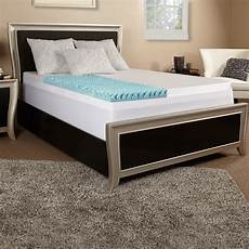 luxury solutions 4 quot textured gel memory foam mattress