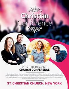 Christian Flyer Templates Free Christian Conference Church Psd Flyer Template Download