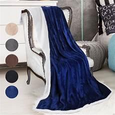 sherpa blanket fleece throw blanket reversible bed throw