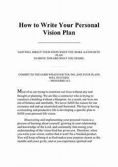 Future Career Plans Statement Writing Your Personal Vision Plan By Guest73de2ec Via