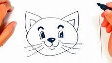 dibujos de gatos como dibujar un gatito paso a paso dibujo facil de