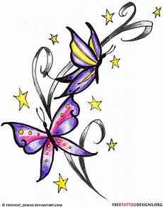 Star Butterfly Designs 60 Butterfly Tattoos Feminine And Tribal Butterfly