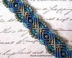 knot just macrame by sherri stokey peacock bracelet a