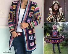 crochet square jacket tutorial pattern