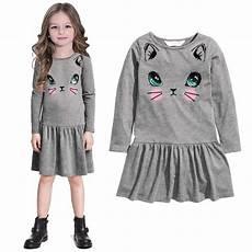 clothes for lids autumn children clothing dress animal print