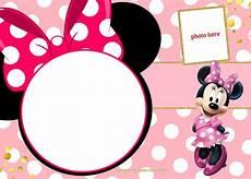 Free Printable Minnie Mouse Invitations Free Printable Minnie Mouse Birthday Invitation