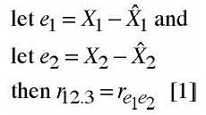 Partial And Semipartial Correlation Venn Diagram Partial And Semipartial Correlation