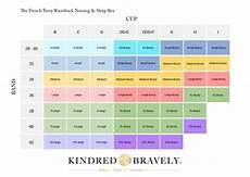 Kindred Bravely Bra Size Chart Kindred Bravely French Terry Racerback Nursing Amp Sleep Bra