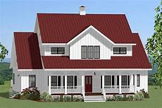 spacious farmhouse with loft 46302la architectural