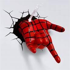 Spidey Light Spiderman Spidey Hand 3d Deco Light 7 Gadgets