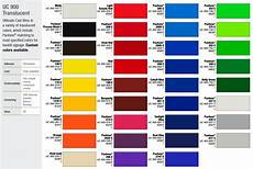 3m Translucent Vinyl Chart How To Choose Vinyl Color And Films A Short Guide Signs Ny