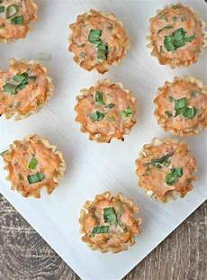 savory phyllo filo cups mexican flavored appetizer