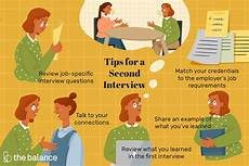 2nd Interview Tips Second Interview Questions And Answers