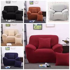 Sofa Seat Slipcover 3d Image by Stretch Sofa Slipcover 1 2 3 Seater 2 Seat 3 Seat 3
