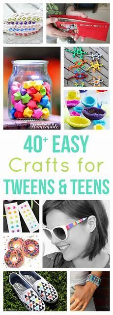crafts for tweens 40 easy crafts for tweens happiness is