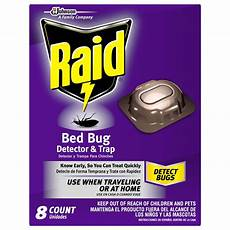 raid bed bug detector and trap 8 0 count