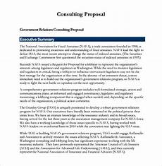 Management Consulting Proposal Free 11 Sample Consultant Proposals In Pdf Ms Word