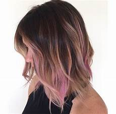 Black To Light Pink Ombre Hair Image Result For Black Hair With Light Pink Highlights