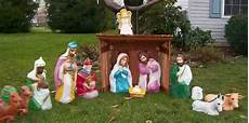 Outdoor Lighted Plastic Nativity Set Ultimate Guide To Different Types Of Outdoor Nativity Sets