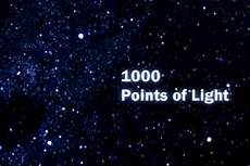 A Thousand Points Of Light 1000 Points Of Light By Steven Vincent