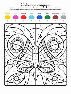 Ausmalbilder Ostern Nach Zahlen Coloriage Magique D Un Bel Insecte