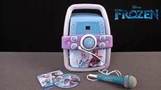 Disney Frozen Light Karaoke Disney Frozen Lights Karaoke Machine From Sakar