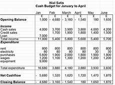 Cash Flow Budget Accounting Made Easy Cash Budgets Cash Flow Forecasts