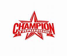 Champion Designs Modern Bold Fitness Logo Design For Champion Training By