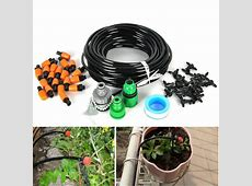 DIY Micro Drip Irrigation Auto Timer Self Plant Watering