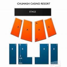 Chumash Casino Concerts Seating Chart Chumash Casino Resort Seating Chart Vivid Seats