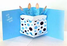 Pop Up Card Template Pop Up Birthday Card 156gmullin