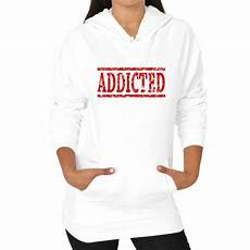 chef coats lacrosse addicted s graphic hoodie hoodies womens