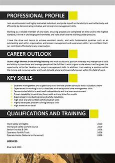 Mining Resume Sample We Can Help With Professional Resume Writing Resume
