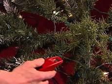 Top Of Christmas Tree Lights Not Working Pre Lit Tree Repair Youtube