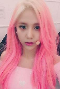 hair pink who rocks pink hair kpop edition updated