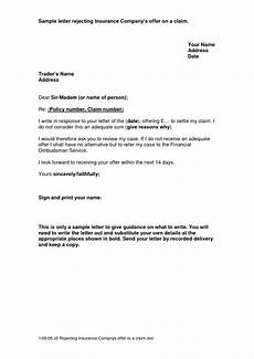 Insurance Claim Letter For Reimbursement Sample Letter To Life Insurance Company Sample Insurance