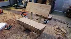 come costruire una panchina in legno come costruire una panchina da giardino con tronchi di