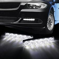 Cool Lights For Cars Universal Cool White Daylight 6 Led High Power Daytime