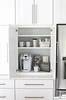 coffee bar the best kitchen cabinet organization ideas