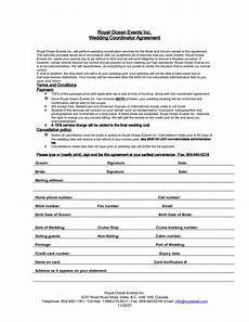 Event Planner Agreement Wedding Planner Contract Agreement Event Planning