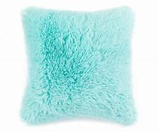 turquoise faux fur throw pillow throw pillows fur throw