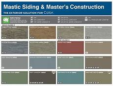 Crane Vinyl Siding Color Chart Vinyl Siding Color Chart Mastic Color Chart Siding