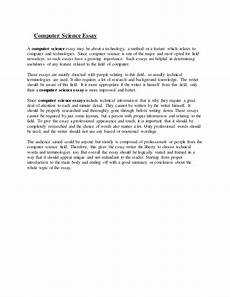 Essay Computer Technology Computer Science Essay