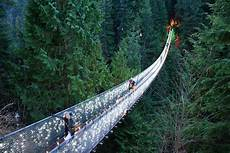 Capilano Suspension Bridge Canyon Lights Tickets Tripadvisor Vancouver City And Capilano Suspension