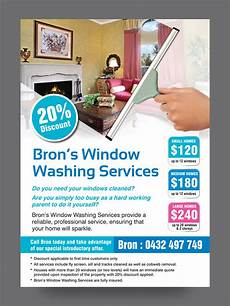 Cleaning Leaflet Template Window Cleaning Leaflets To Stand Out From The Crowd