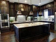 Dark Kitchen Cabinets With Light Floors 32 Best Dark Cabinets W Light Or Dark Floor Images On