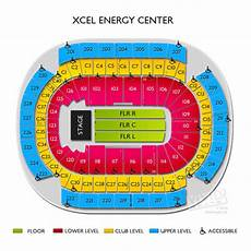 Mn Wild Xcel Seating Chart Xcel Energy Center Tickets Xcel Energy Center