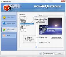 Powerpoint Template Quiz Powerpoint Quiz Maker For Powerpoint By Presentationpro