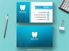 Dental Clinic Card Design Free Dentist Business Card Template Download Psddaddy Com